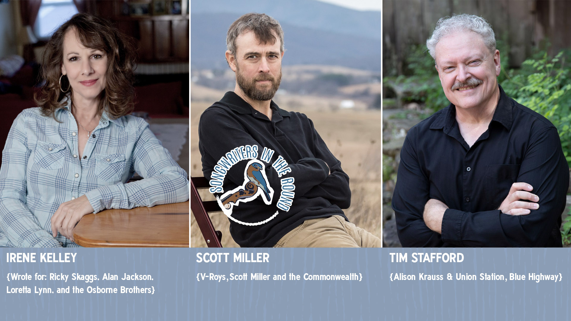 Tickets for Songwriters in the Round: Miller, Kelley, Stafford in Waynesville from ShowClix
