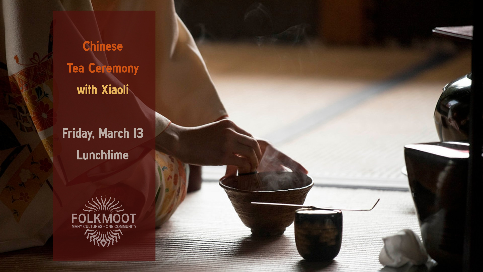 Tickets for Chinese Tea Ceremony with Xiaoli in Waynesville from ShowClix