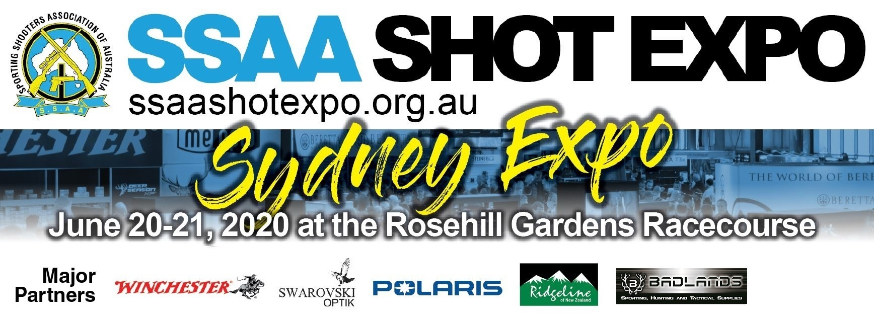 Tickets for CANCELLED: SSAA SHOT Expo Sydney 2020 in Rosehill from Ticketbooth