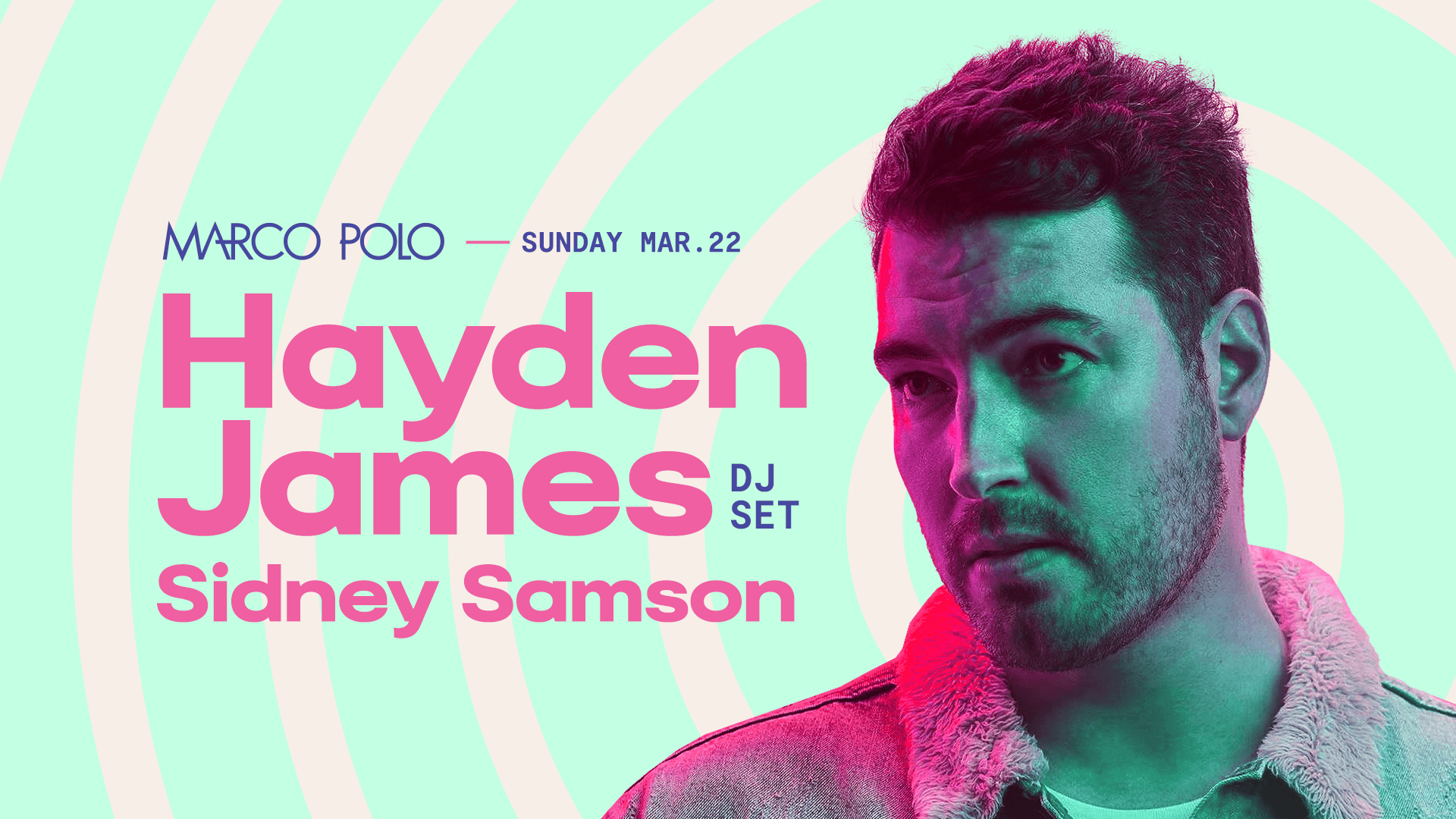 Tickets for CANCELLED: Marco Polo ft. Hayden James (DJ Set) in Sydney from Merivale