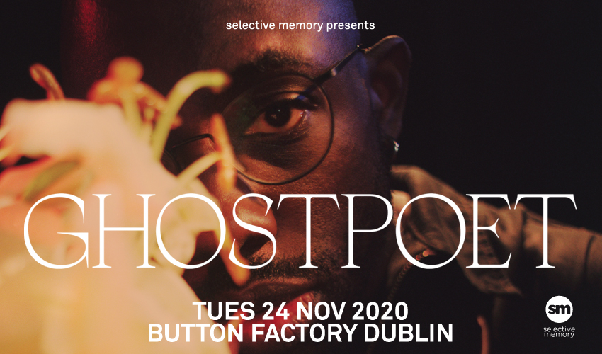 Tickets for Cancelled: Ghostpoet in Dublin from Ticketbooth Europe