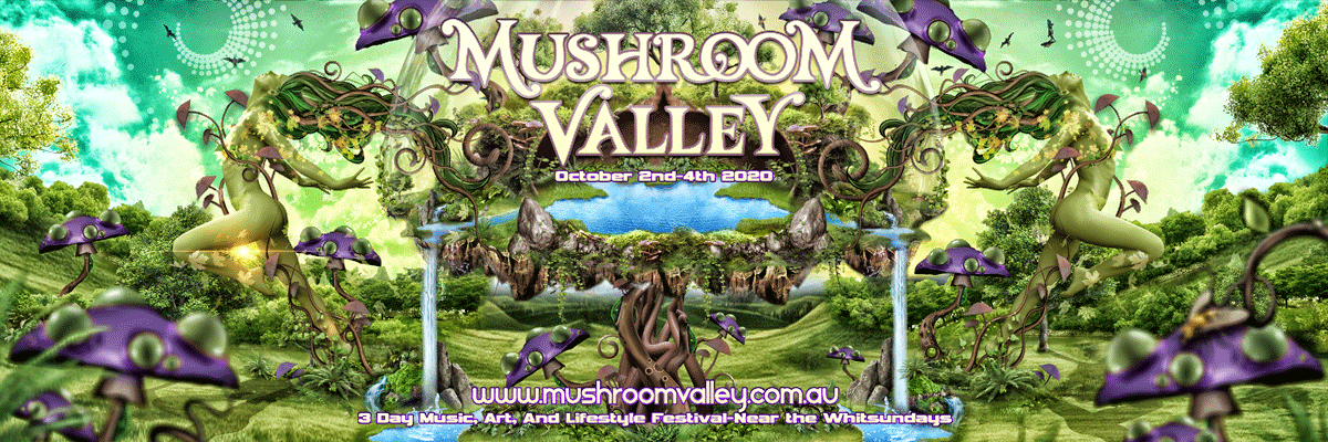 Tickets for Mushroom Valley 2020 in Yalboroo from Ticketbooth
