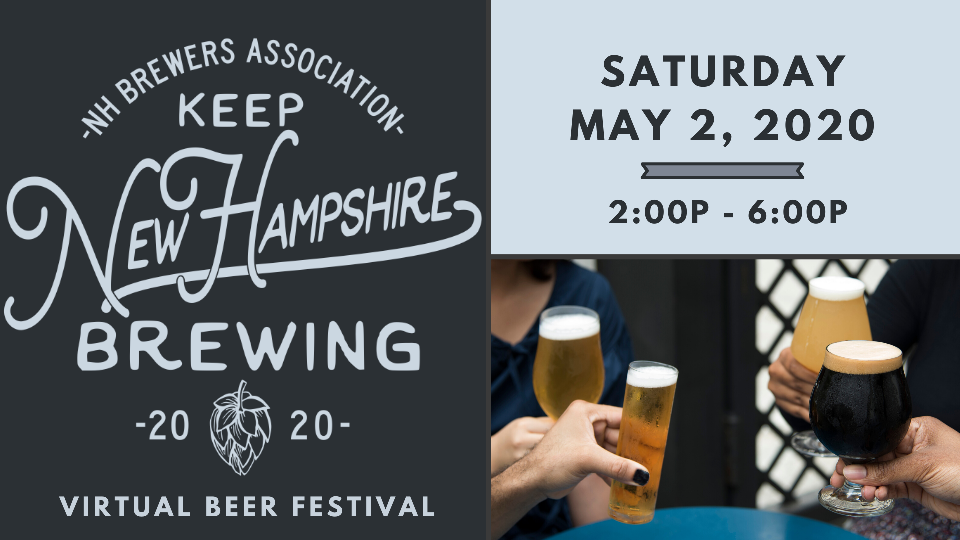Tickets for Keep NH Brewing Virtual Beer Fest from BeerFests.com