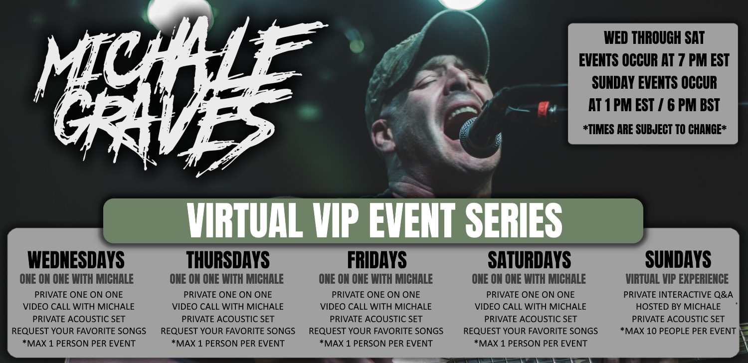 Tickets for Michale Graves - One on One from National Acts Inc.