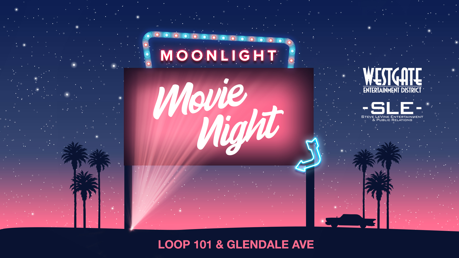 Find tickets from Moonlight Movie Night at Westgate