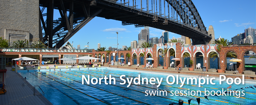 Tickets for NSOP Pool Swim Bookings in Milsons Point from Ticketbooth