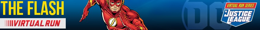 Tickets for Justice League Virtual Run - The Flash from Tixsa