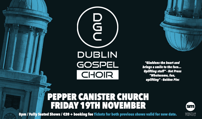 Tickets for DublinGospelChoir in Dublin from Ticketbooth Europe