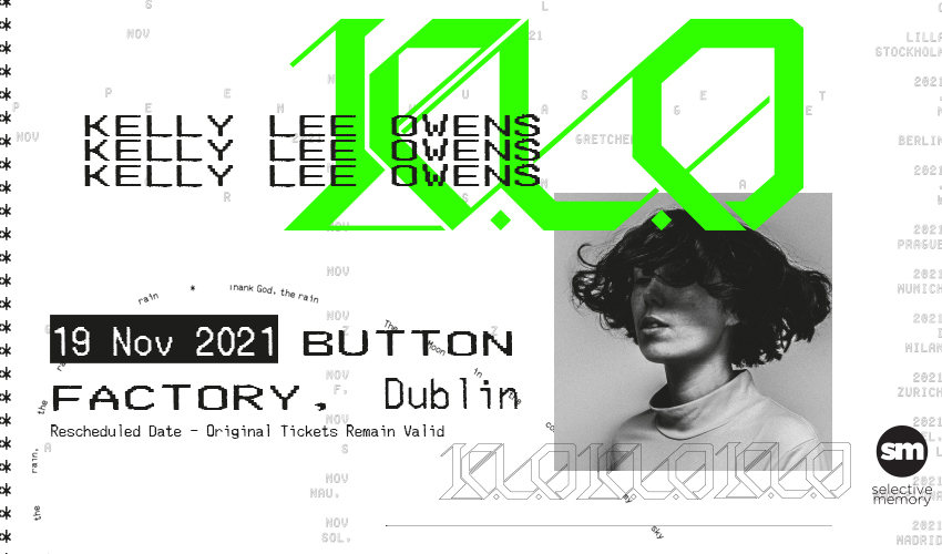 Tickets for Kelly Lee Owens in Dublin from Ticketbooth Europe