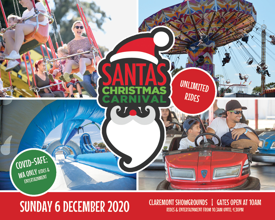 Tickets for Santa's Christmas Carnival 2020 in Claremont from Ticketbooth