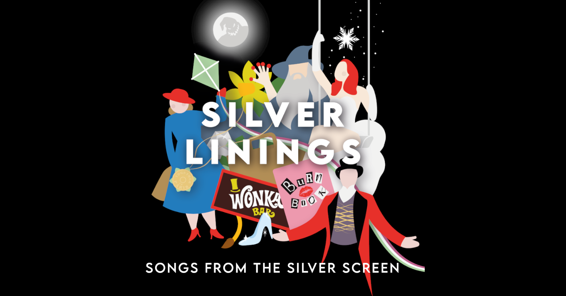 Tickets for Silver Linings: Songs from the Silver Screen in Wellington from Ticketbooth New Zealand