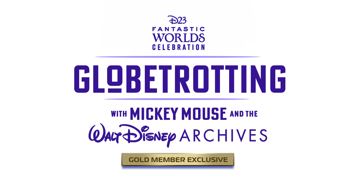 Tickets for Globetrotting with Mickey Mouse and the Walt Disney Archives in Burbank from Disney D23