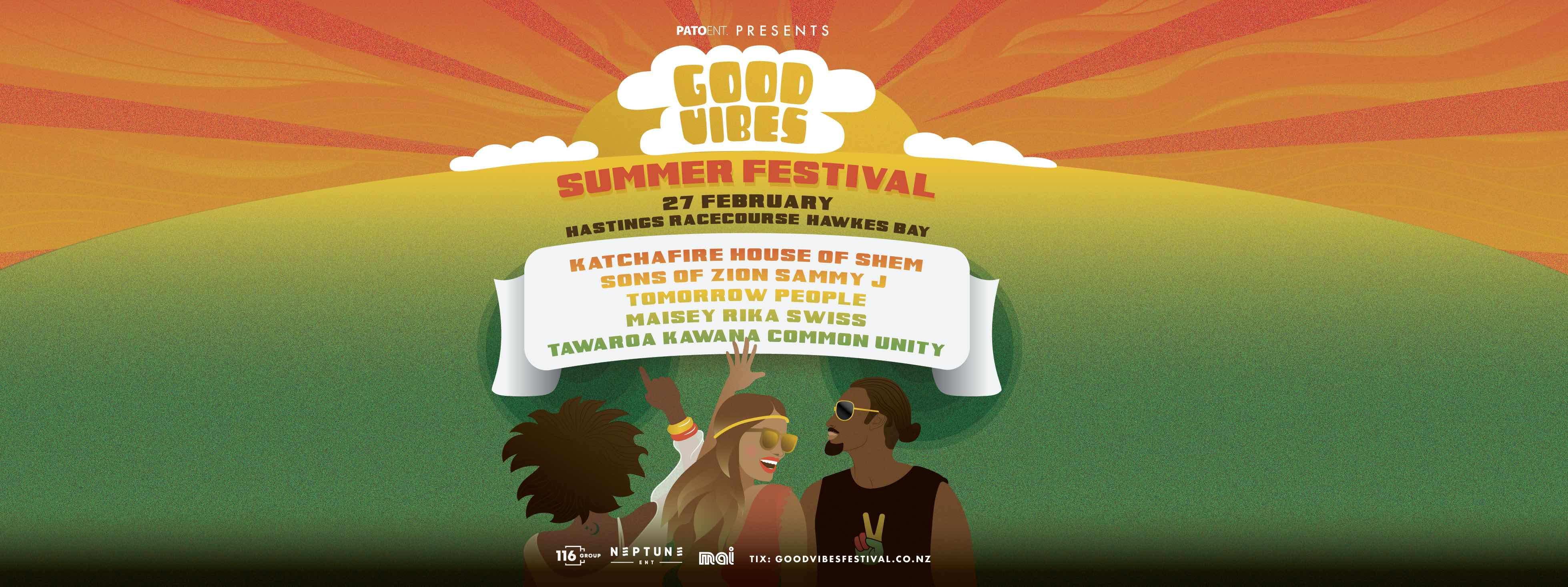 Tickets for Good Vibes Summer Festival | Hawkes Bay in Hastings from Ticketspace