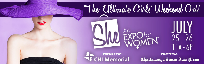 Tickets for 2014 She, An Expo for Women in Chattanooga from ShowClix