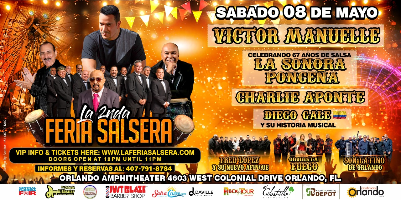 Tickets for La 2nda Feria Salsera in Orlando from ShowClix