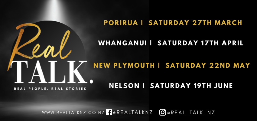 Find tickets from Real Talk NZ