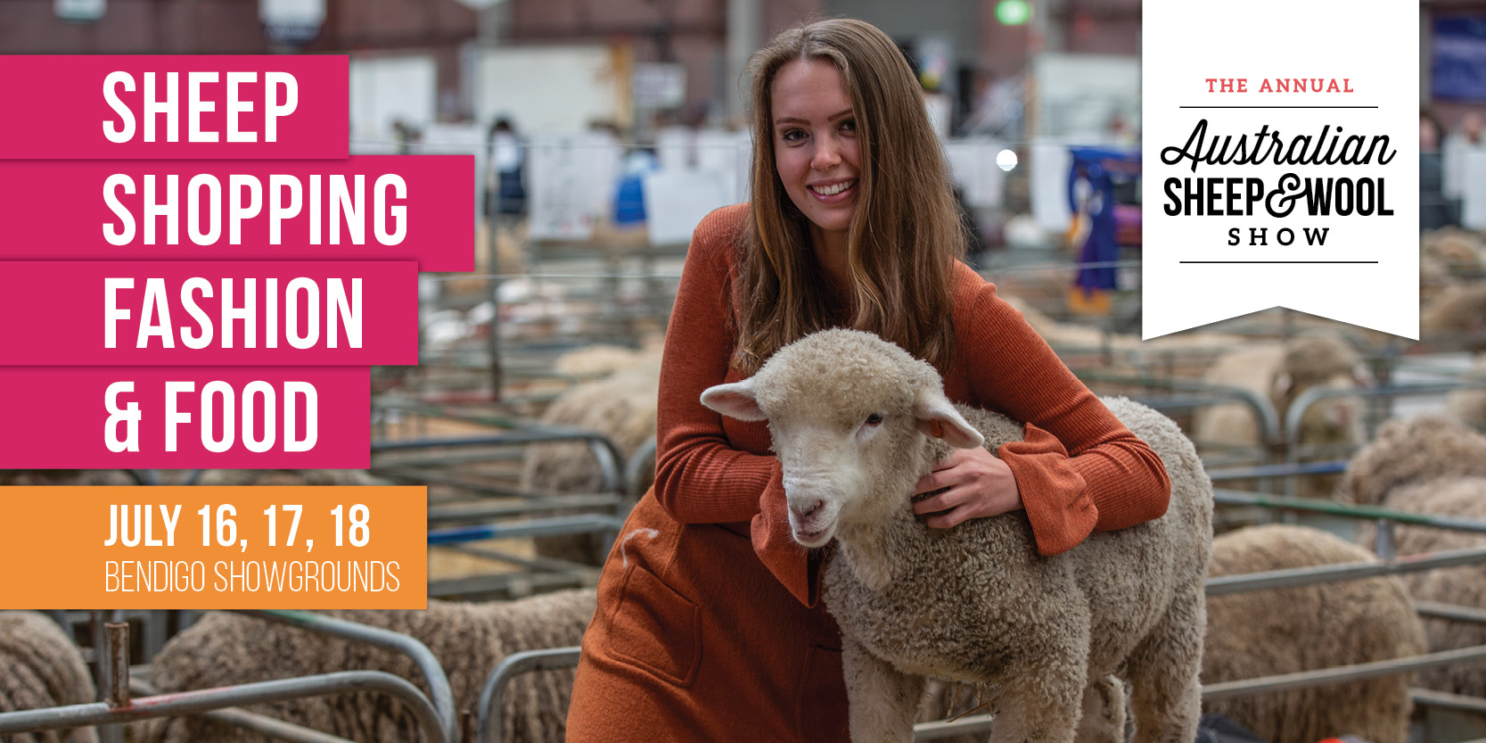 Tickets for The Australian Sheep and Wool Show in North Bendigo from Ticketbooth