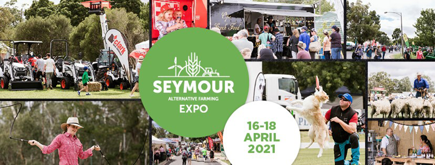 Tickets for Seymour Alternative Farming Expo 2021 in Seymour from Ticketbooth