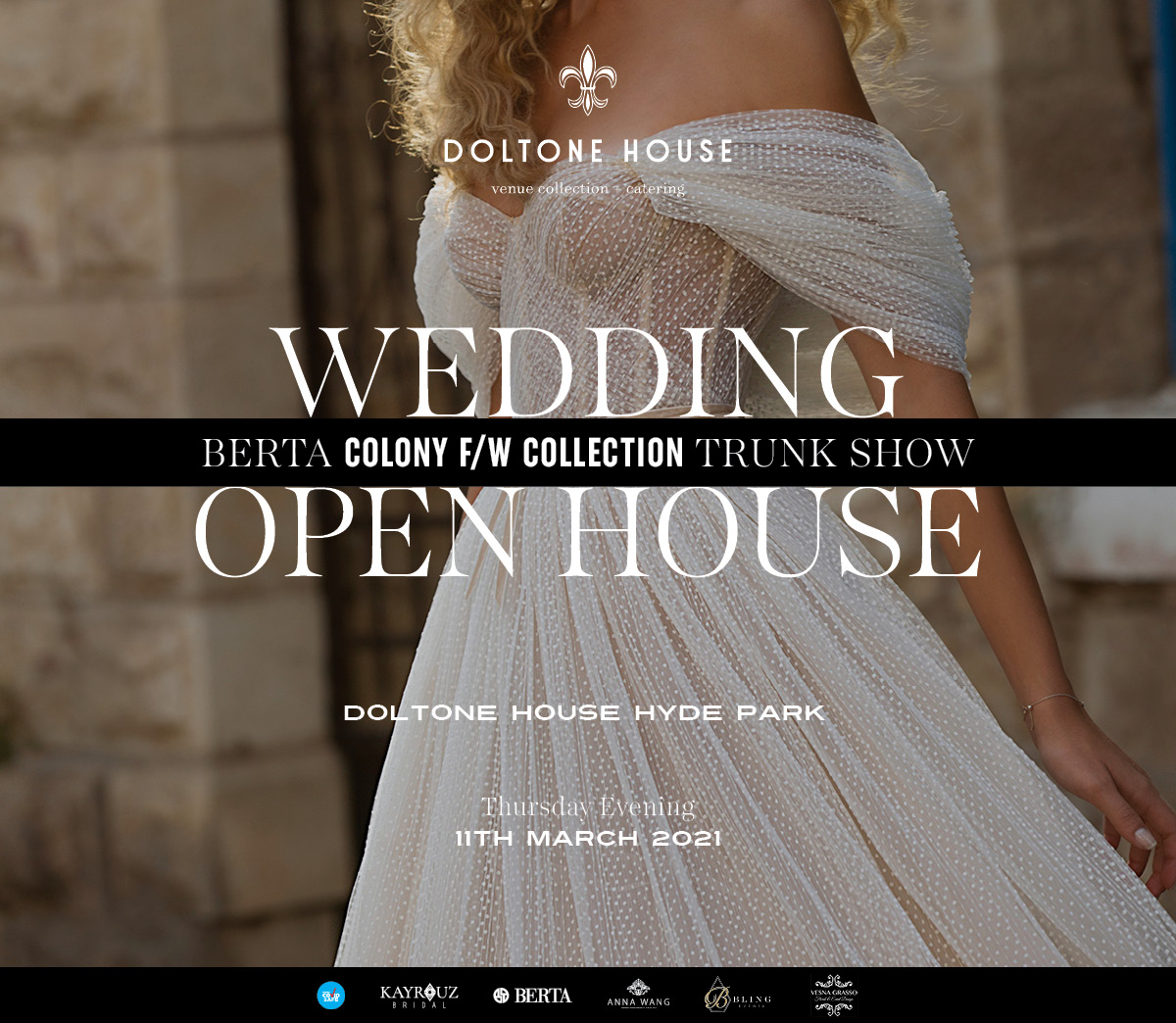 Tickets for Wedding Open House: Berta Trunk Show in Sydney from Ticketbooth