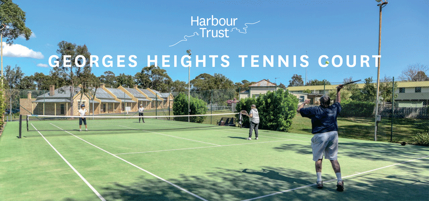 Tickets for Georges Heights Tennis Court in Mosman from Ticketbooth