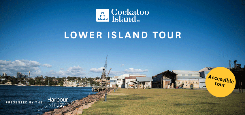 Tickets for Lower Island Tour in Cockatoo Island from Ticketbooth