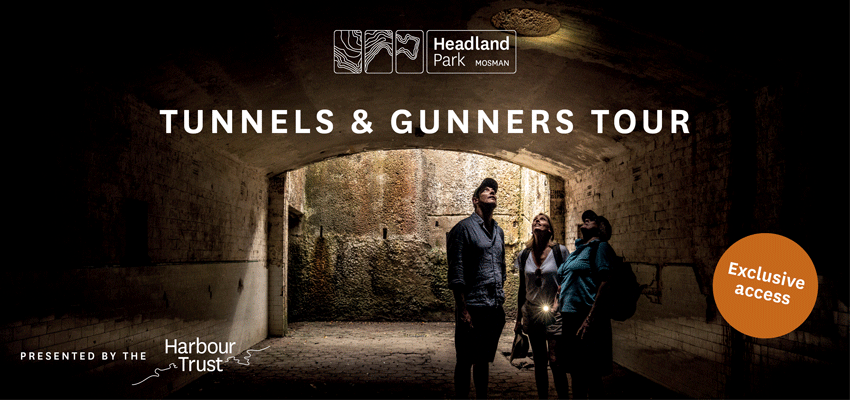 Tickets for Tunnels and Gunners Tour in Mosman from Ticketbooth