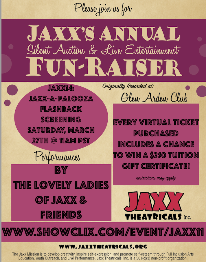 Tickets for Jaxx11: Glen Arden from ShowClix