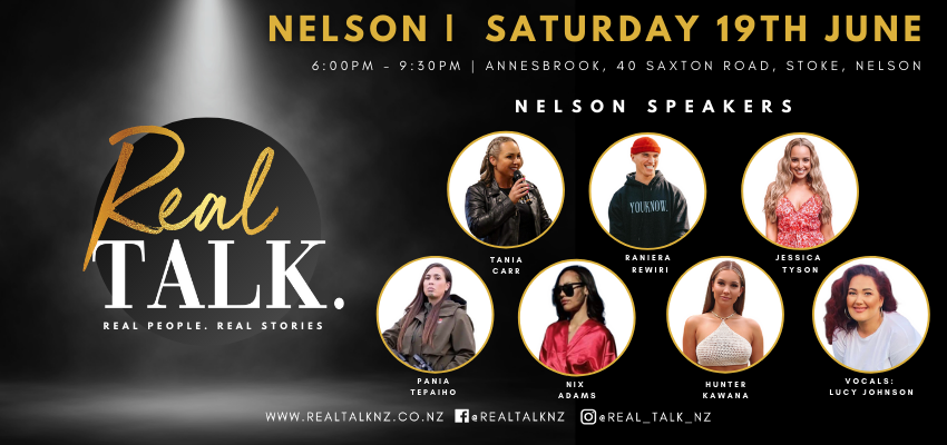 Tickets for Real Talk | Nelson in Stoke from Ticketspace