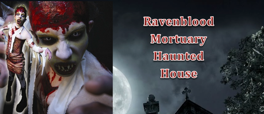 Tickets for Ravenblood Mortuary Haunted House in El Dorado Hills from ShowClix
