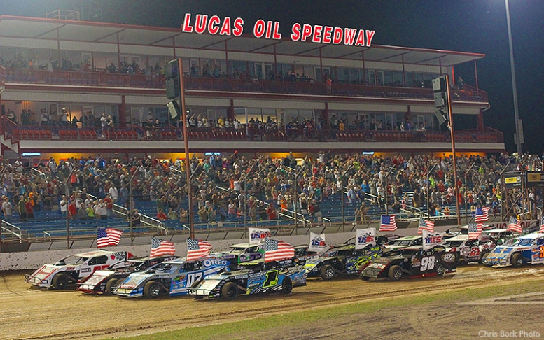 Find tickets from Lucas Oil Speedway