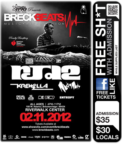 Tickets for Breck Beats in Breckenridge from ShowClix