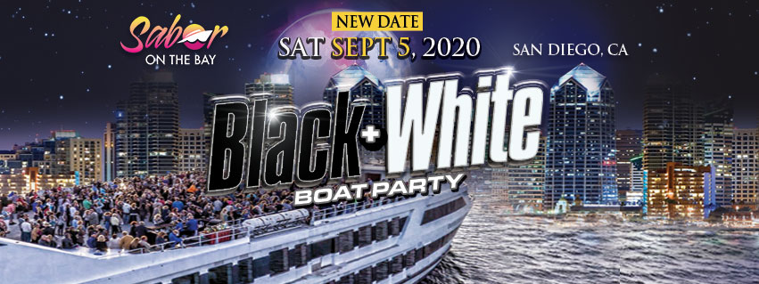 Tickets for Black + White Boat Party in San Diego from ShowClix