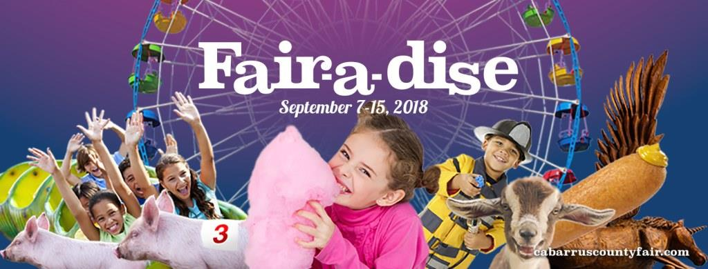 Tickets for 2018 Cabarrus County Fair in Concord from ShowClix