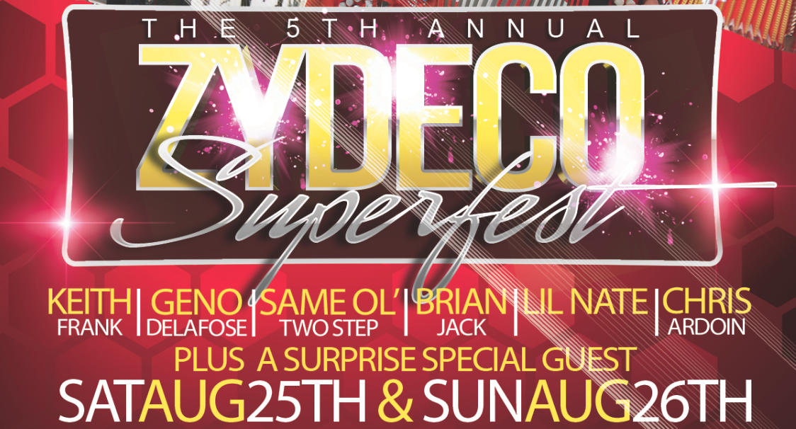 Tickets for THE 6TH ANNUAL ZYDECO SUPERFEST in LAFAYETTE from ShowClix