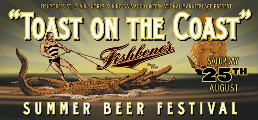 Tickets for Toast on the Coast Beer Festival in St. Clair Shores from ShowClix