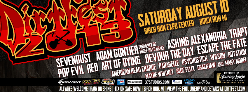 Find tickets from Dirt Fest Partners LLC