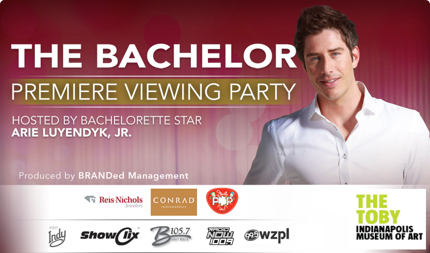 Tickets for The Bachelor Premiere Viewing Party in Indianapolis from ShowClix