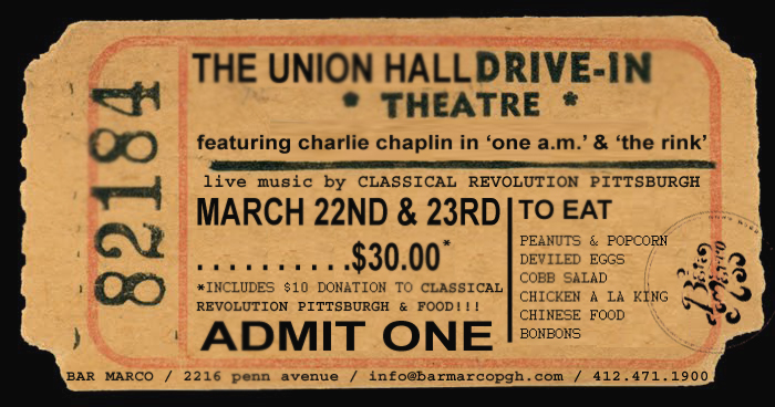 Tickets for THE UNION HALL DRIVE-IN sat in Pittsburgh from ShowClix