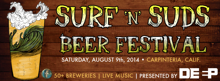 Tickets for DEEP Surf 'n' Suds Beer Festival in Carpinteria from ShowClix
