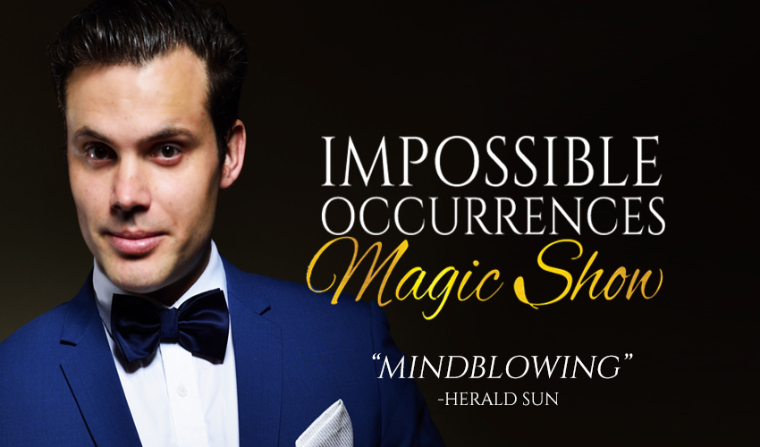 Tickets for Impossible Occurrences Dinner and Show Package in Melbourne from Ticketbooth