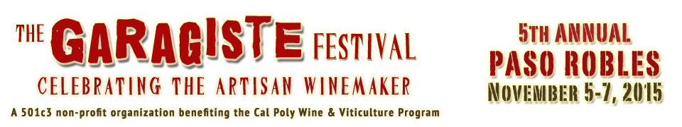 Tickets for 5th Annual Paso Garagiste Festival in Paso Robles from ShowClix
