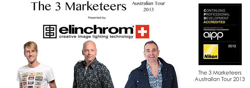Tickets for THE 3 Marketeers - Masterclass POSTPONED in Canberra from Ticketbooth