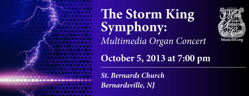 Tickets for The Storm King Symphony: Multimedia Organ Concert in Bernardsville from ShowClix