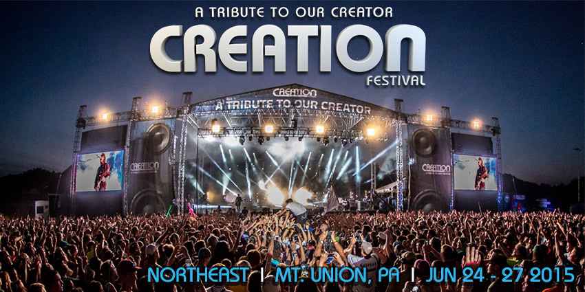 Tickets for Creation Festival - Northeast in Mt Union from ShowClix