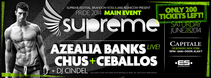 Tickets for SUPREME Saturday: The Main Event in New York from ShowClix