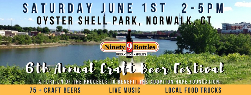 Tickets for 5th Annual Ninety9Bottles Craft Beer Festival in Norwalk from BeerFests.com