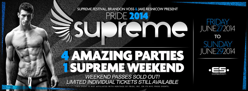 Tickets for Pride Weekend Pass: Save 30% in New York from ShowClix